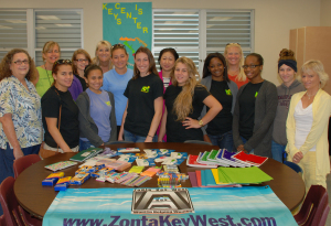 Zonta donates to Keys Center Academy 2014